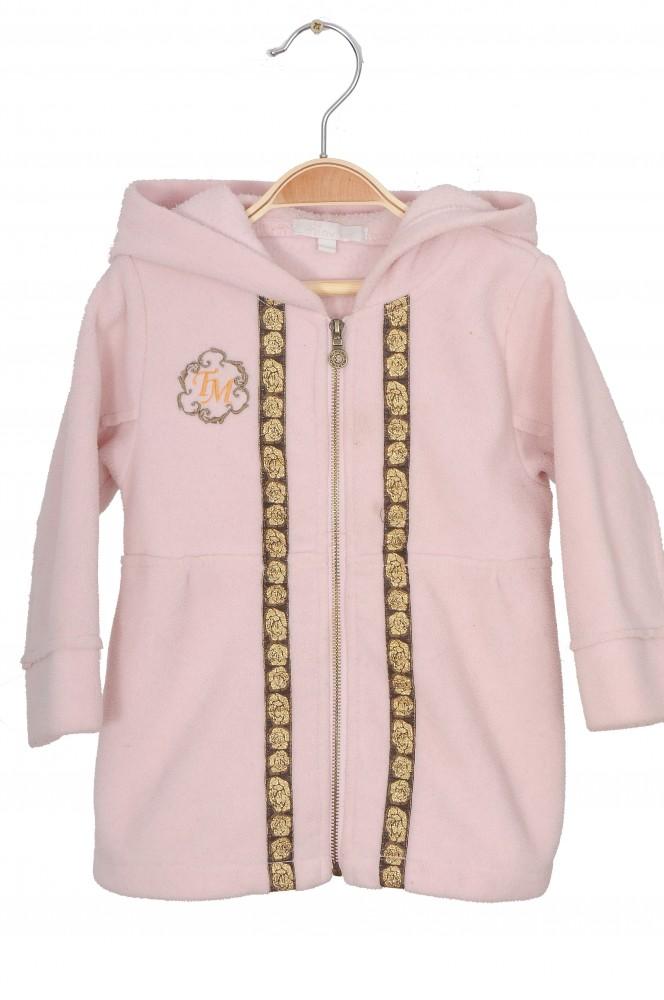 Jacheta roz fleece Minymo, 18 luni