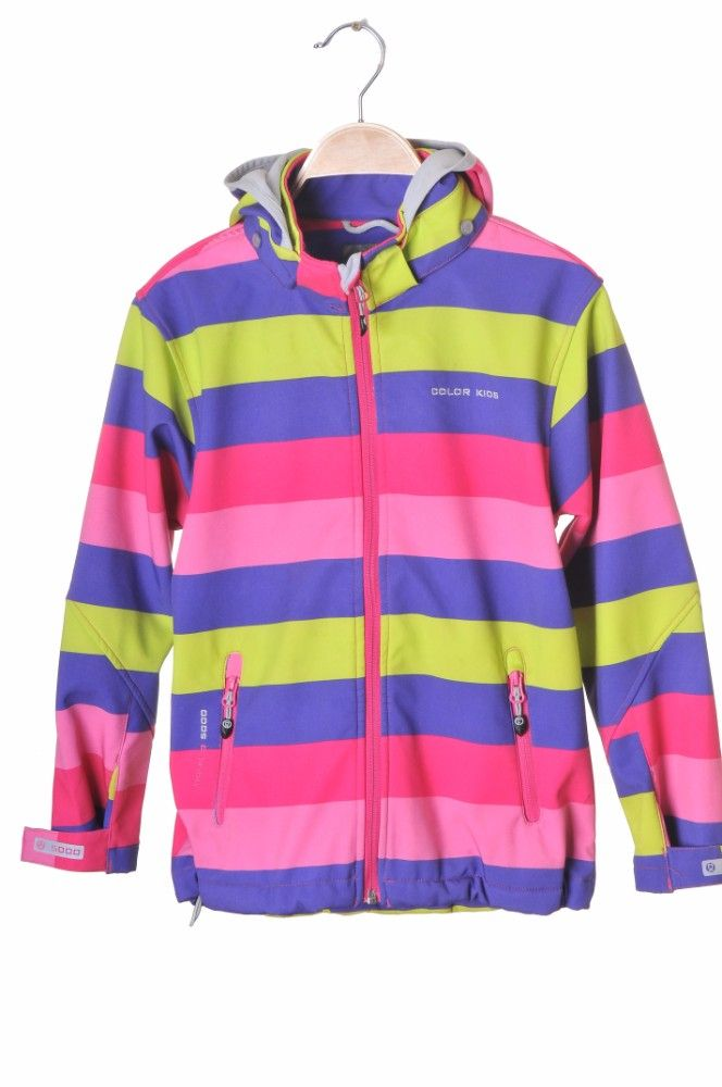Jacheta softshell multicolor Color Kids, 10-11 ani