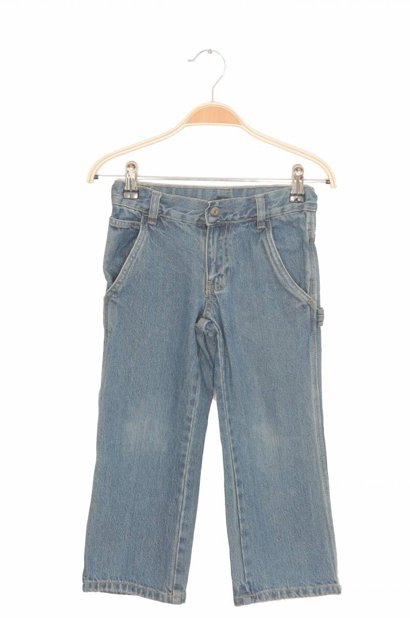 Jeans bumbac organic Faded Glory, talie ajustabila, 5 ani