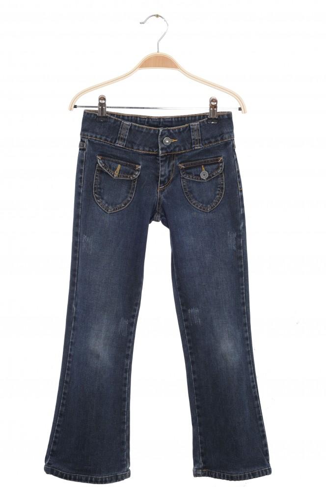 Jeans prespalati Mitzy, 10 ani