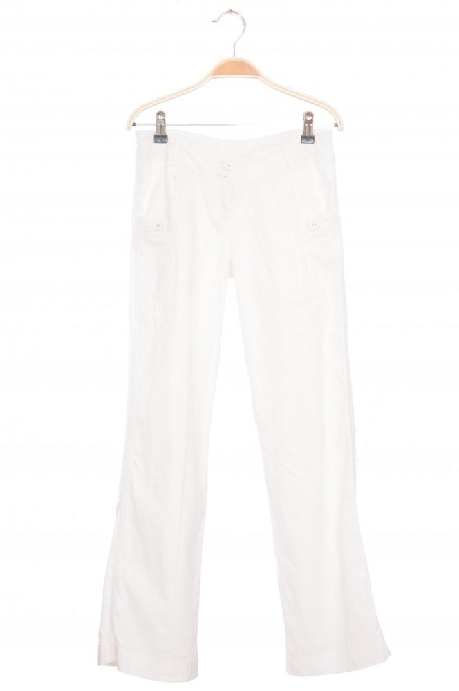 Pantaloni albi de in S.Oliver, 12-14 ani