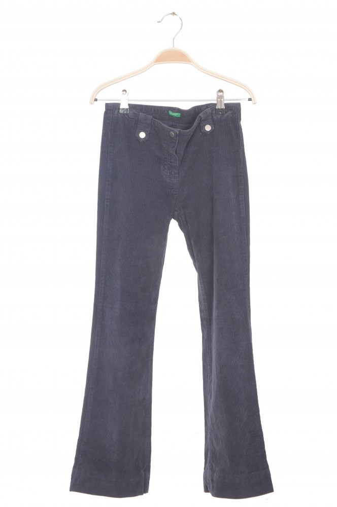Pantaloni Benetton, velur, 10 ani