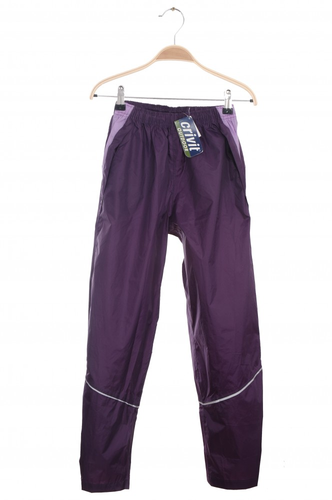 Pantaloni mov impermeabili Crivit, 10 ani