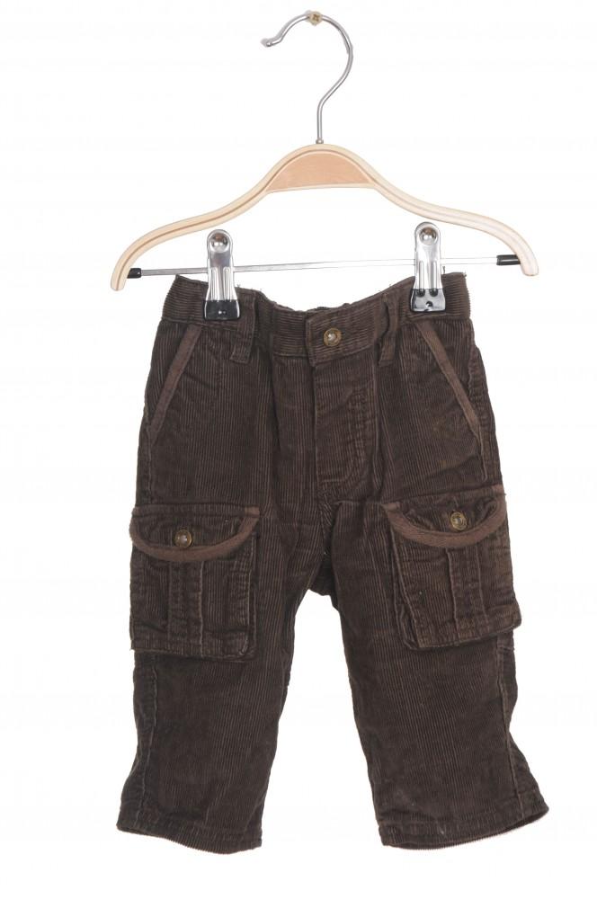 Pantaloni Obaibi, velur, 6 luni