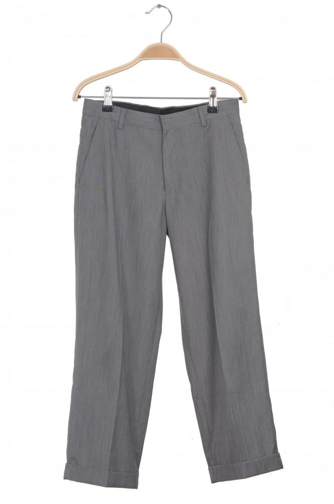 Pantaloni stofa gri Calvin Klein, 12 ani Regular