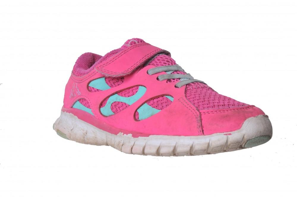 Pantofi sport Kappa, roz cu turcoaz, marime 32
