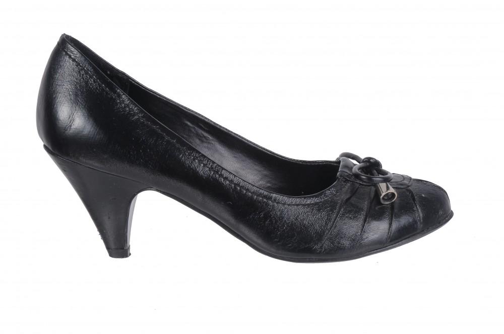 Pantofi Taxi by Tops, piele lacuita, marime 38