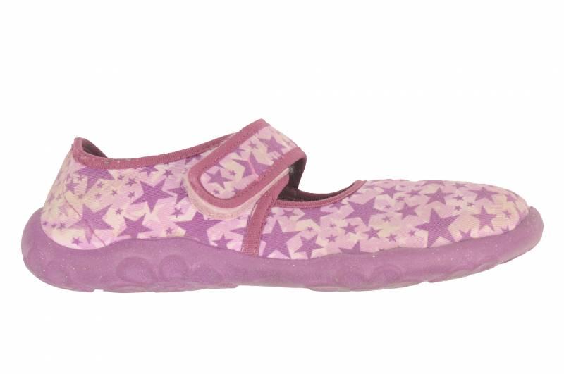 Pantofi textil mov cu lila SuperFit, marime 35