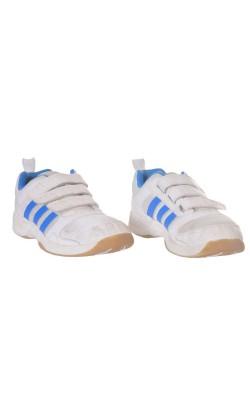Adidas alb cu bleu, ortholite, marime 32