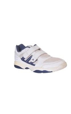 Adidas alb cu bleumarin, marime 34