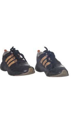 Adidas negru cu portocaliu, marime 32