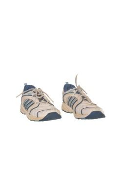 Adidasi albi cu bleu, marime 24