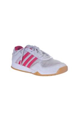 Adidasi albi cu roz, foarte usori, marime 38