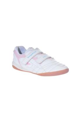 Adidasi albi cu roz Kangaroos, marime 33