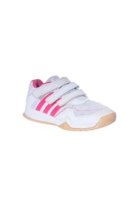 Adidasi albi cu roz Orthlite, marime 31