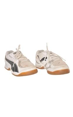 Adidasi albi Puma, marime 37