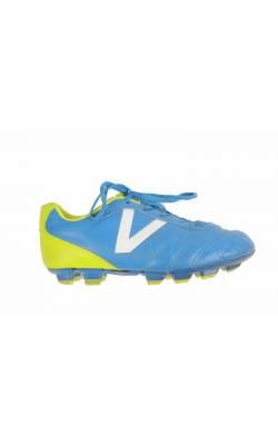 Adidasi crampoane Victory, albastru cu fistic, marime 32