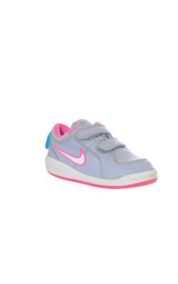 Adidasi gri cu roz Nike, marime 24.5