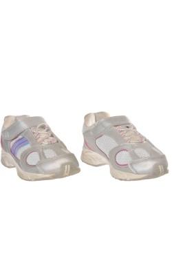 Adidasi gri cu roz Smart Fit, marime 29