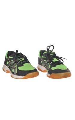 Adidasi negri cu verde Asics, marime 35
