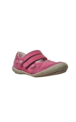 Balerini roz piele naturala Baren Schuhe, marime 30