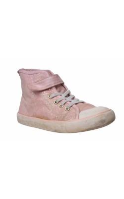 Bascheti roz sclipitori H&M, marime 30