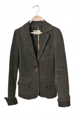 Blazer cambrat denim Donna Karan New York, marime S