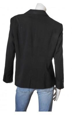 Blazer negru cambrat H&M B.B., marime 54