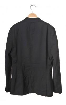 Blazer negru H&M, marime 46, Regular fit