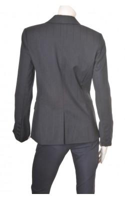 Blazer negru texturat H&M, marime 44
