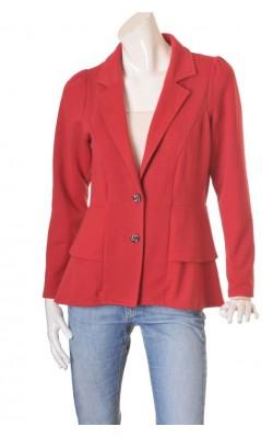 Blazer rosu Zay Clothing, marime L