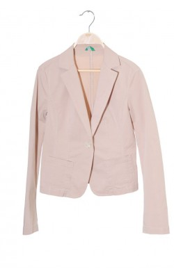 Blazer stretch cambrat Benetton, marime 36