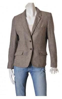 Blazer tesatura lana H&M L.o.g.g., marime 44