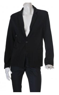 Blazer Vska Boutique Clothing, Jjerseu negru, marime 42