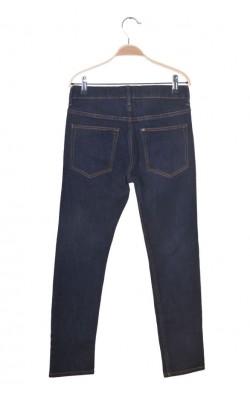 Blugi bleumarin H&M skinny fit, talie ajustabila, 11-12 ani