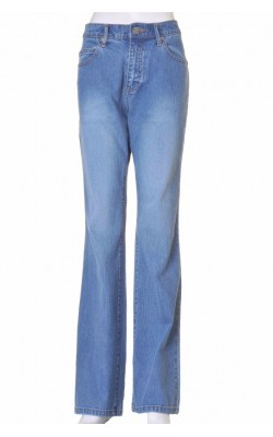 Blugi B.Young, slim fit, top waist, boot cut, marime 40