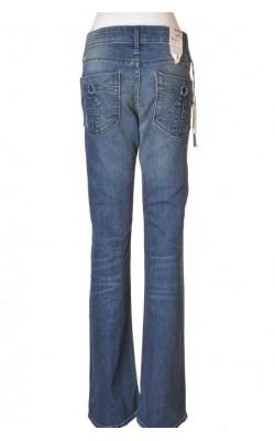 Blugi dama H&M, low waist bootcut leg, marime 42