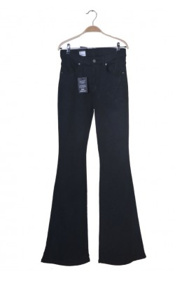 Blugi Dr.Denim, mid rise, flared second skin, marime 34