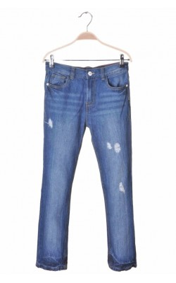 Blugi drepti Denim Co. Rebelle, 10-11 ani