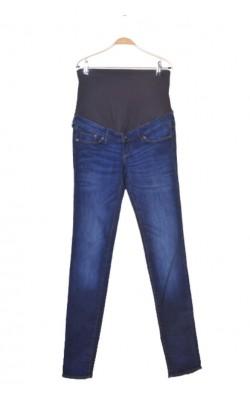Blugi gravide H&M slim high rib, marime 36