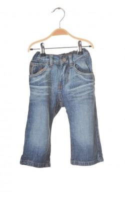 Blugi H&M fit&original, talie ajustabila, 12-18 luni