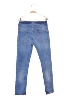 Blugi H&M skinny fit, talie ajustabila, 10-11 ani