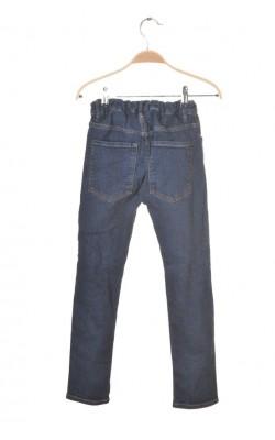 Blugi H&M skinny fit, talie ajustabila, 8-9 ani