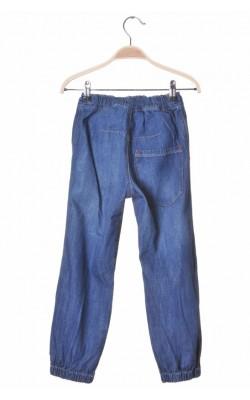 Blugi loose pull-on H&M, 7-8 ani
