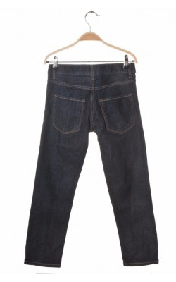 Blugi navy slim fit H&M, talie ajustabila, 8-9 ani