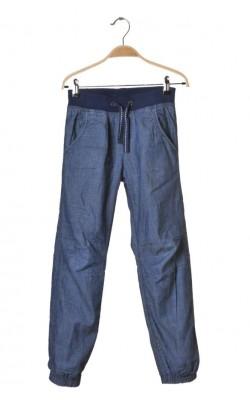 Blugi pull-on H&M L.o.g.g., captuseala jerseu, 9-10 ani