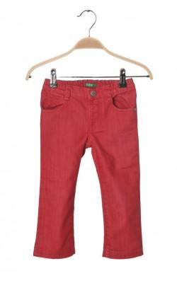 Blugi rosii fete United Colors of Benetton, 2-3 ani