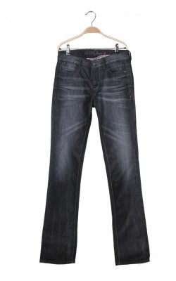 Blugi slim straight Guess, marime 38