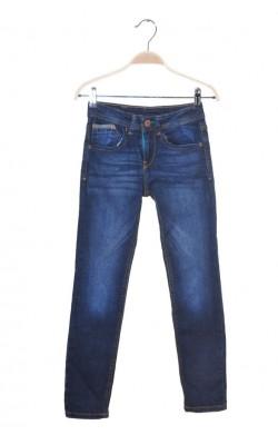 Blugi stretch Zara, talie ajustabila, 7-8 ani