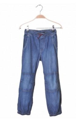 Blugi subtiri loose pull-on H&M, 7-8 ani